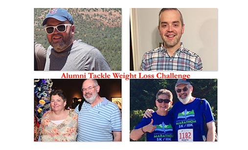 Two Alumns and their weight loss stories