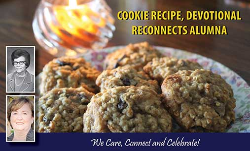 Cookie Recipe Reconnects Alumni