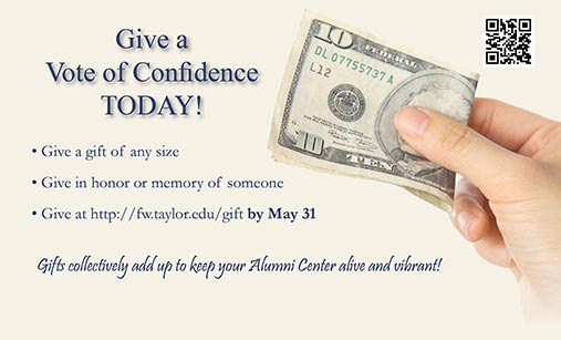 Continue to Support the Alumni Center